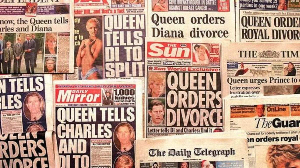 diana et la presse