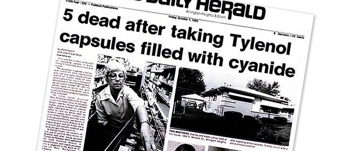 tylenol crise