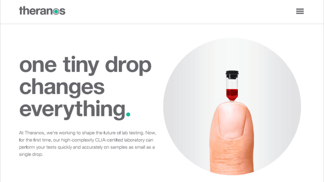 theranos communication de crise