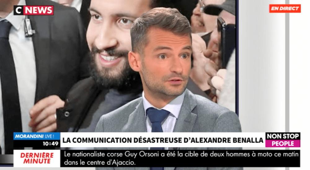 florian silnicki communication politique de crise alexandre benalla