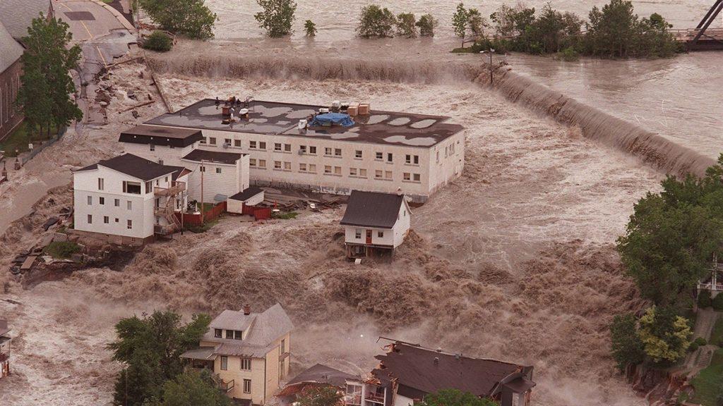 innondations Saguenay crise