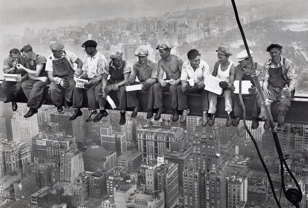 Lewis-Hine-Rockefeller-Center-Construction-Site-1930