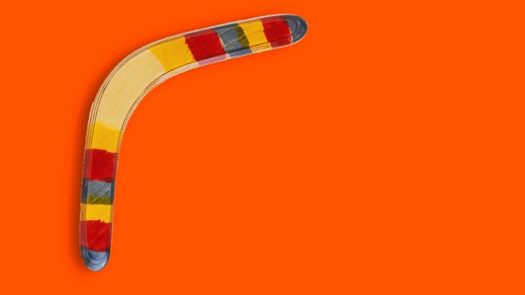 boomerang crise